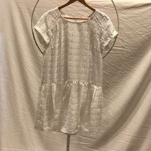 Maeve midi white dress